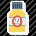 crossbone, danger, death, pirate, poison, skeleton, skull