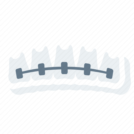 artificial, dental, denture, jaw, stomatology, treatment icon