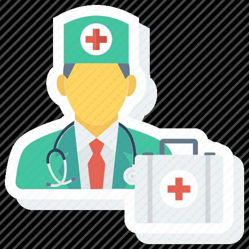 doctor, kit, medical, medicine, nurse, physician icon