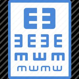 care, eyesight, hospital, medical, refractions icon