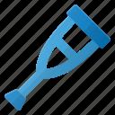 hold, stick, crutch icon