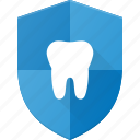 care, dental, protect, shield icon