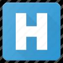 sigh, hospital, healthcare, emergency, mark icon