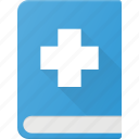 medical, book, health, care, learn icon