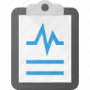 case, clipboard, medical, report icon