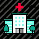 clinic, healthcare, hospital