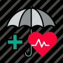 health, insurance, medical icon