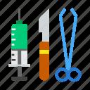 hospital, surgery, tools