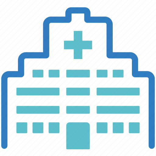 building, clinic, health centre, healthcare centre, hospital, medical, medical centre icon