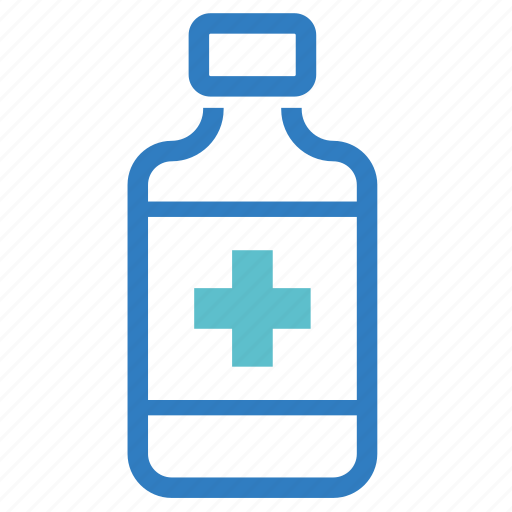 cough syrup, drug, medical, medicine, pharmacy, stomachic mixture, treatment icon