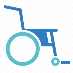 disability, disabled, handicap, hospital, medical, medical equipment, wheelchair icon