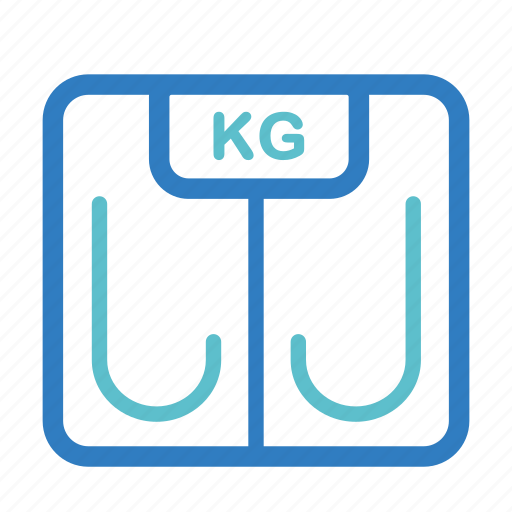 diet, fitness, measure, scale, weight, weight loss, weight scale icon