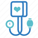 blood pressure, blood pressure cuff, blood pressure kit, check, health, medical, medical equipment icon