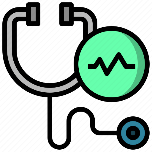 and, doctor, health, healthcare, medical, phonendoscope, stethoscope icon