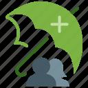 health insurance, healthcare, life insurance, medical insurance, trust icon