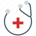 doctor, healthcare, heartbeat, medical, medical kit, stethescope icon