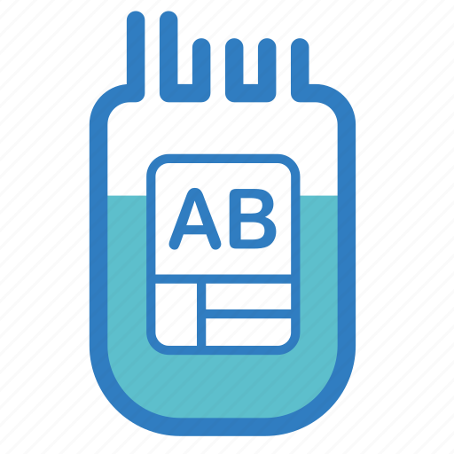 ab, aid, blood donation, blood type, emergency, medical, transfusion icon