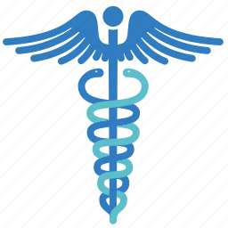 caduceus, care, health, healthcare, healthy, hospital, medical icon