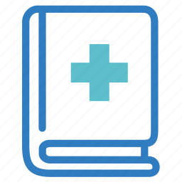 health, healthcare, medical, medical book, medical science, research, study icon