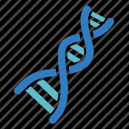 biology, dna, genetics, genome, laboratory, medical, science icon