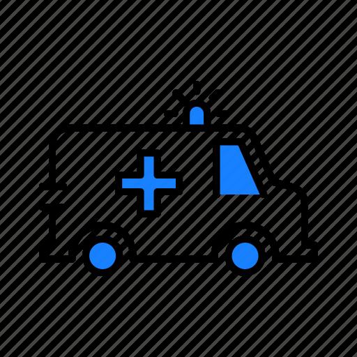 Ambulance, healthcare, medical icon - Download on Iconfinder