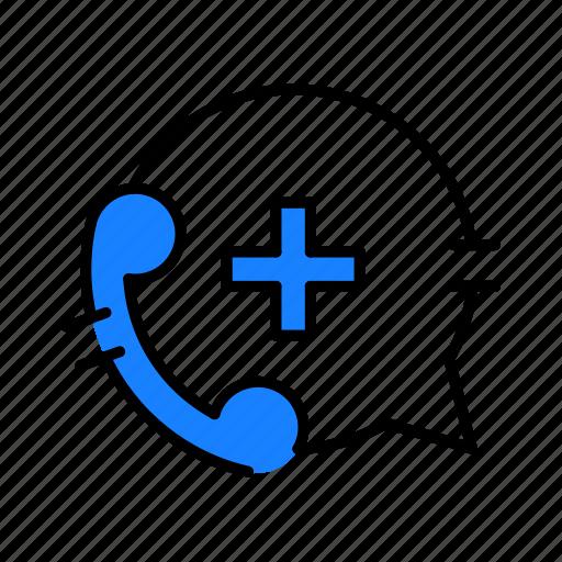 call center, healthcare, medical icon