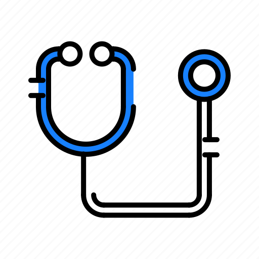 Medical, stetoscope icon - Download on Iconfinder