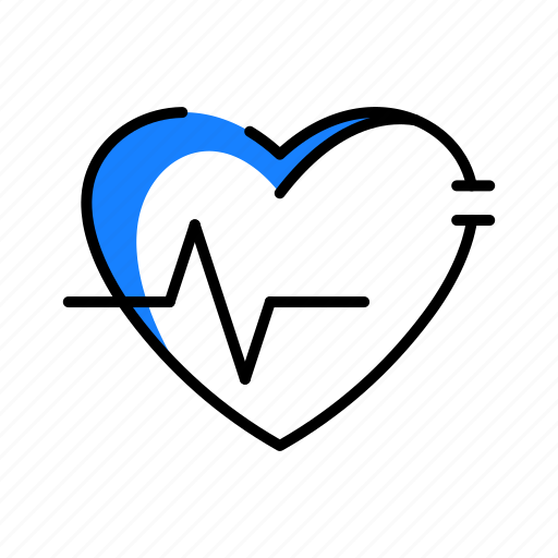 Cardiogram, heart, medical, pulse icon - Download on Iconfinder
