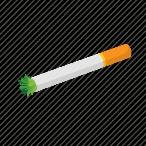 cannabis, cartoon, joint, marijuana, narcotic, reefer, weed icon