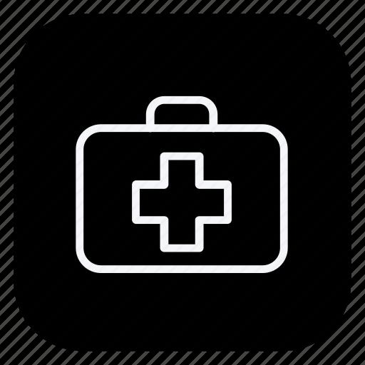 anatomy, doctor, drug, first aid kit, hospital, medical, medicine icon
