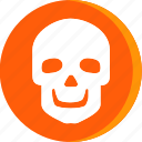 anatomy, body, head, human, part, parts, skull icon
