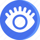 anatomy, body, eye, health, human, part, parts icon
