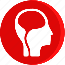 anatomy, body, brain, health, human, part, parts icon