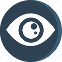 anatomy, body, eye, human, organ, part, parts icon