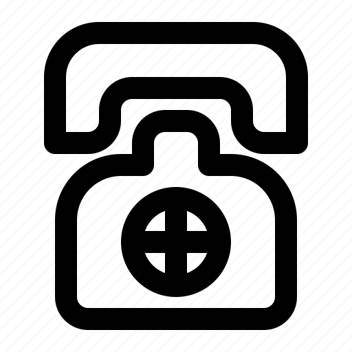 Call, care, health, hospital, medical, telephone icon - Download on Iconfinder