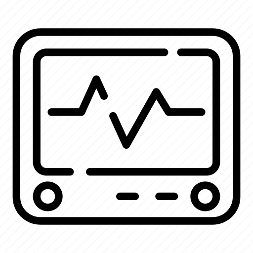 Ecg, ekg, healthcare, heartbeat, monitor, pulse, analytics icon - Download on Iconfinder