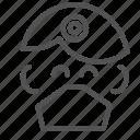 avatar, dentist, doctor, face icon