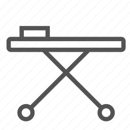 ambulance, bed, emergency, pacient, transport icon