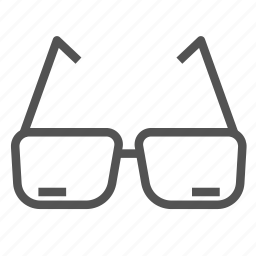 eye, glass, sight icon