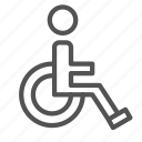avatar, disabled, handicap, mark icon
