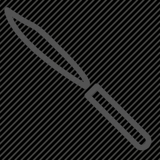 blade, equipment, scalpel, surgeon, tool icon