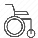 disabled, handicaped, wheelchair icon