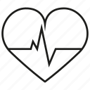 heart, life, love, organ, signal icon