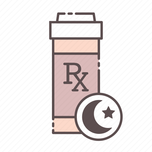 bottle, medical, pm, rx, wellness icon