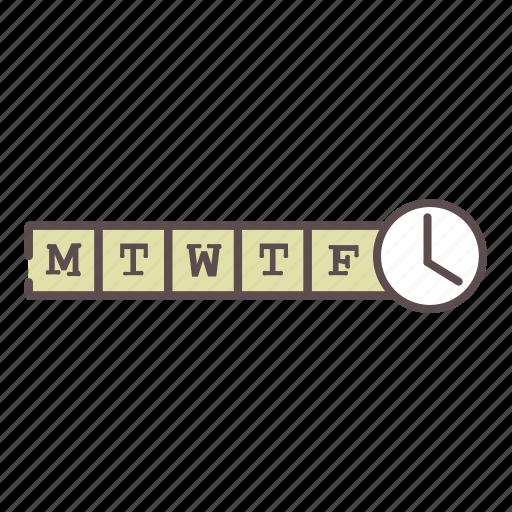 calendar, medical, rx, schedule, weekly, wellness icon