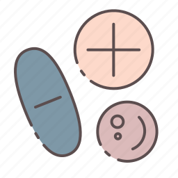 medical, pills, rx, wellness icon