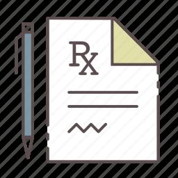 medical, prescription, rx, wellness icon