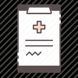 clipboard, medical, prescription, rx, wellness icon