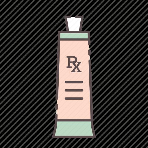 medical, rx, tube, wellness icon
