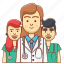 avatar, care, doctor, medical care, medicine, teamwork medicinal, therapist icon